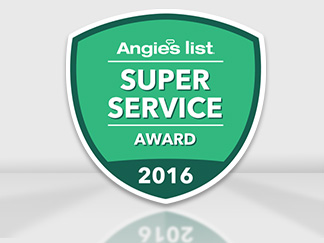 Angie's List Super Service Award 2016 for Sir Grout North New Jersey