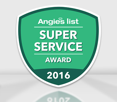 Super Service Award 2016 from Angie's List for Sir Grout North New Jersey