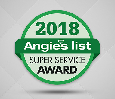Angie's List Super Service Award 2018 for Sir Grout Northern New Jersey
